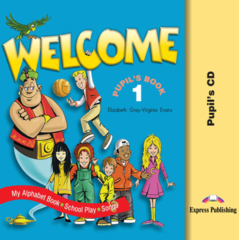 Welcome 1 Pupil's Audio CDs (Songs, Alphabet, Play)