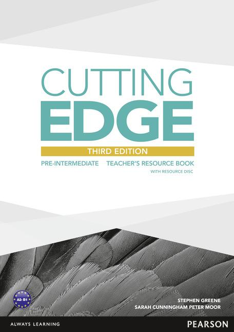 Cutting Edge 3rd Edition Pre-Intermediate Teacher's Book with Teacher's Resources CD-ROM Pack