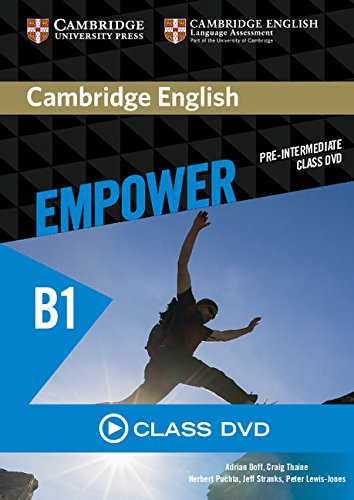Cambridge English Empower Pre-Intermediate Class DVD