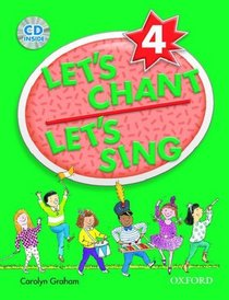 Let's Chant, Let's Sing 4 Student Book with Audio CD