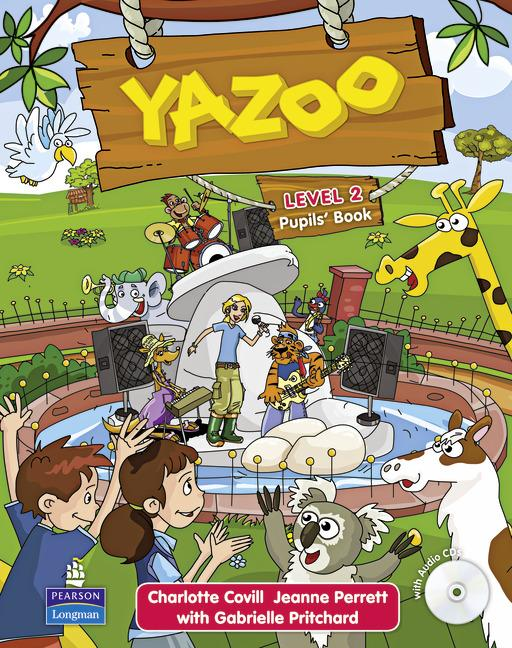 Yazoo 2 Pupils' Book (with audio)