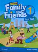 Family and Friends Second Edition 1 Class Book with Student's Site