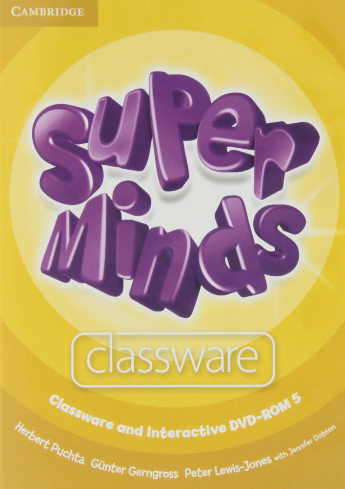 Super Minds Level 5 Classware and Interactive DVD-ROM