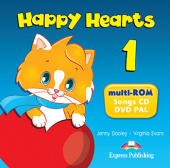 Happy Hearts 1 multi-ROM (Songs CD / DVD Video PAL)