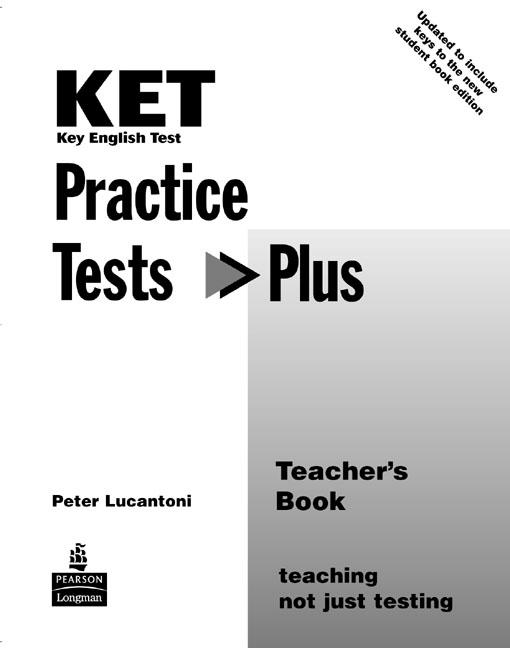 KET Practice Tests Plus Teachers Book *revised edition