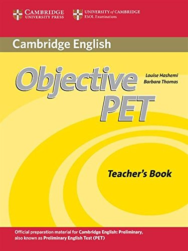 Objective PET 2nd Edition Teacher's Book