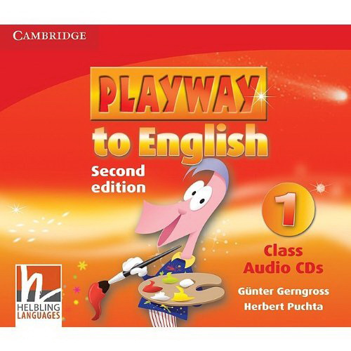 Playway to English (Second Edition) 1 Class Audio CDs (Лицензия)
