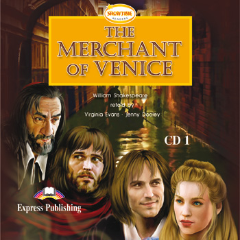 Showtime Readers Level 5 The Merchant of Venice Audio CDs (set of 2)