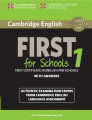 Cambridge English First 1 for Schools (for revised exam 2015)