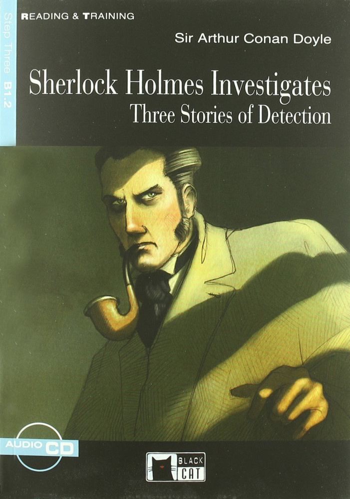 Reading & Training Step 3: Sherlock Holmes Investigates + CD