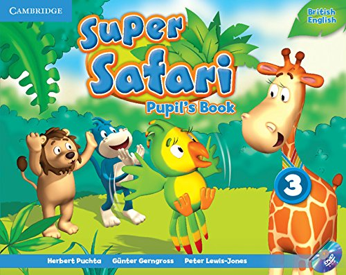 Super Safari 3 Pupil's Book with DVD-ROM