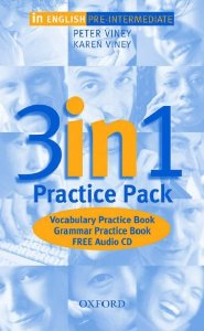 In English Pre-Intermediate 3-in-1 Practice Pack