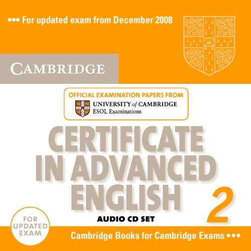 Cambridge Certificate in Advanced English 2 for updated exam Audio CDs (2) (Лицензия)