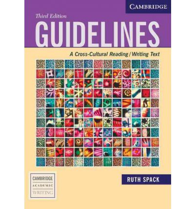 Guidelines Third Edition: A Cross-Cultural Reading/Writing Text