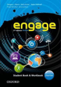 Engage 2nd Edition Starter Student Book and Workbook with MultiROM