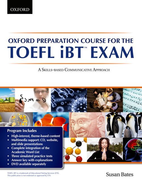 Oxford Preparation Course for the TOEFL iBT™ Exam Student's Book Pack with Audio CDs and website acc