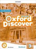Oxford Discover Second edition 3: Workbook with Online Practice