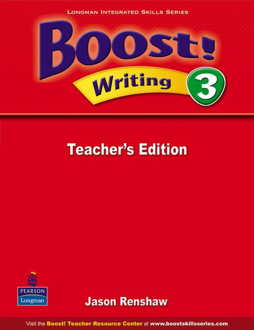 Boost Writing 3 Teacher's Edition
