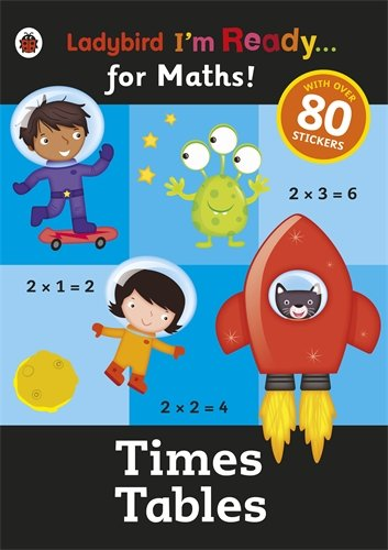 Ladybird I'm Ready for Maths: Sticker Workbook Times Tables