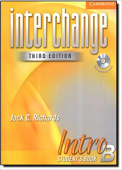 Interchange Third Edition 1 Intro Student's Book B with Audio CD