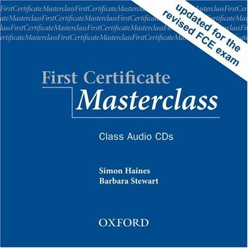 First Certificate Masterclass: Class Audio CDs (2)