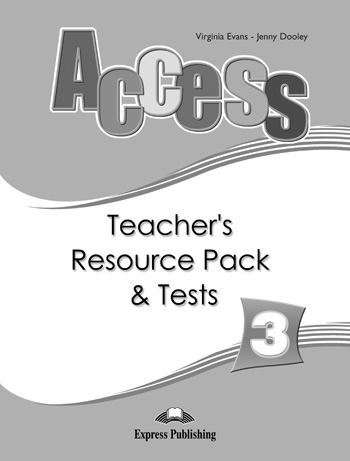 Access 3 Teacher's Resource Pack & Tests