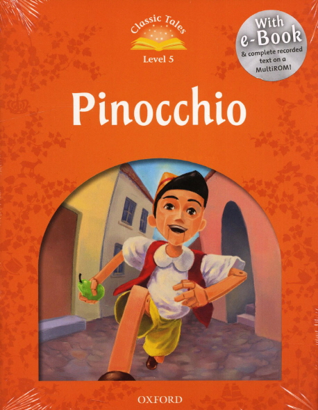 Classic Tales Second Edition: Level 5:  Pinocchio e-Book with Audio Pack