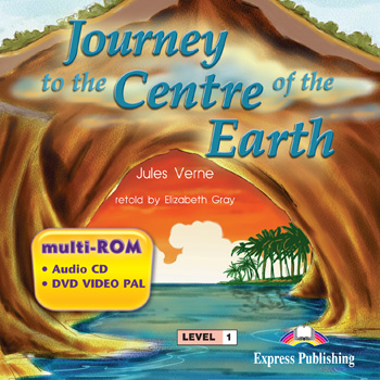 Graded Readers Level 1 Journey to the Centre of the Earth multi-ROM (Audio CD / DVD Video PAL)
