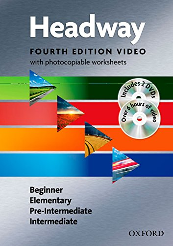 New Headway Beginner - Intermediate Fourth Edition Video and Worksheets Pack