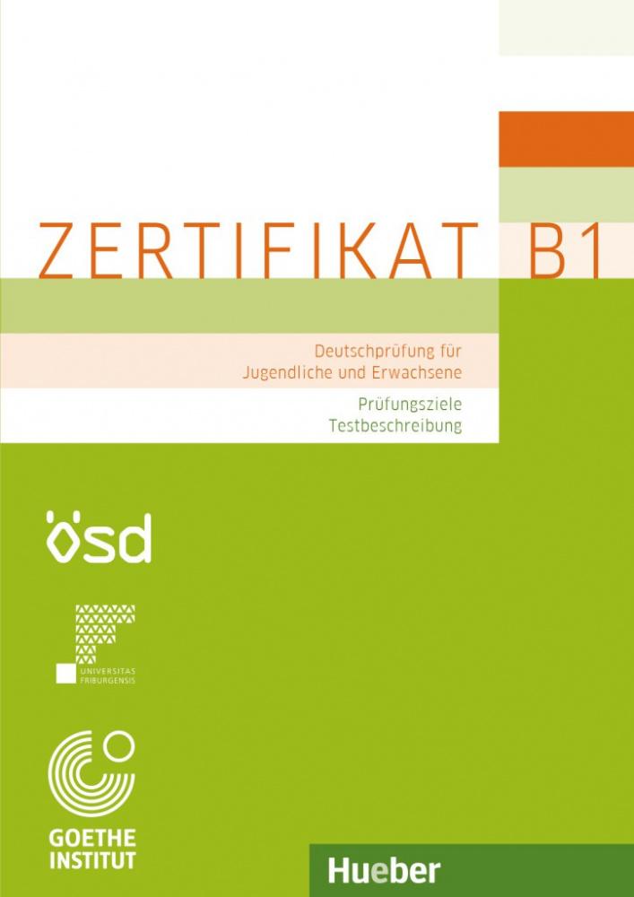 купить Goethe Zertifikat B1 Prufungsziele Testbeschreibung Buch