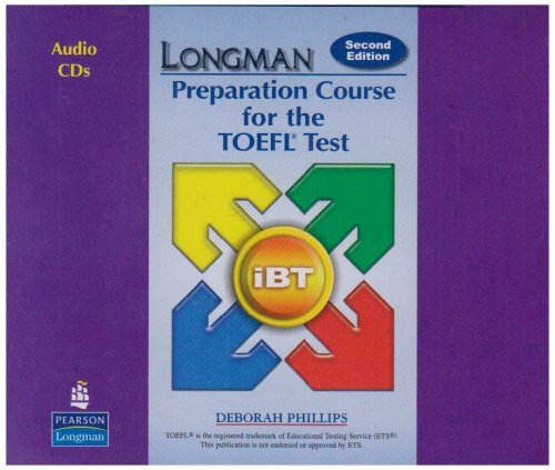 Longman Preparation Course for the TOEFL®:Test : ibT (2nd Edition) Audio CDs