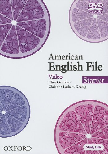 American English File Starter DVD