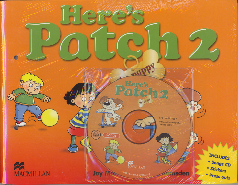 Here's Patch the Puppy 2 Pupil's Book with Songs Audio-CD