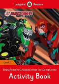 Ladybird: Transformers: Grimlock Stops the Decepticons Activity Book