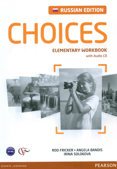 Choices Russia Elementary Workbook with Audio CD