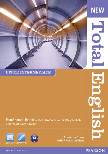 New Total English Upper Intermediate Students' Book (with Active Book CD-ROM) & MyLab