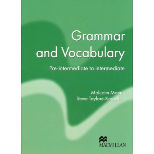 Macmillan Exam Skills For Russia. Grammar and Vocabulary: Pre-Intermediate to Intermediate Student's Book