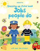 Dressing Up Sticker Book : Jobs People Do