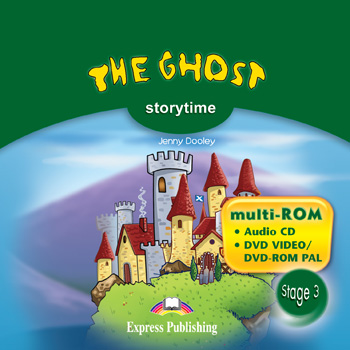 Stage 3 - The Ghost multi-ROM (Audio CD / DVD Video & DVD-ROM PAL)