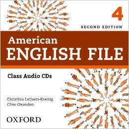 American English File Second edition Level 4 Class Audio CD (4)