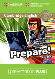 Cambridge English Prepare! Level 6 Presentation Plus DVD-ROM