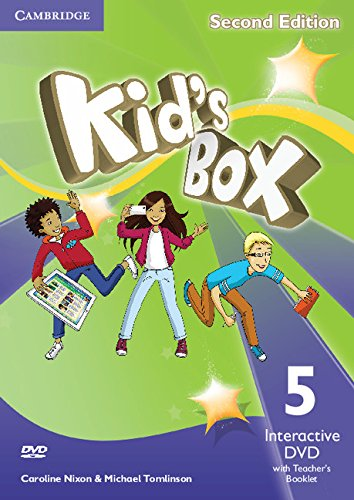 Kid's Box Second Edition 5 Interactive DVD (NTSC) with Teacher's Booklet