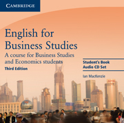 English for Business Studies (Third Edition) Audio CDs (2) (Лицензия)