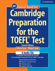 Cambridge Preparation for the TOEFL Test (Fourth Edition) Book with CD-ROM and Audio CDs