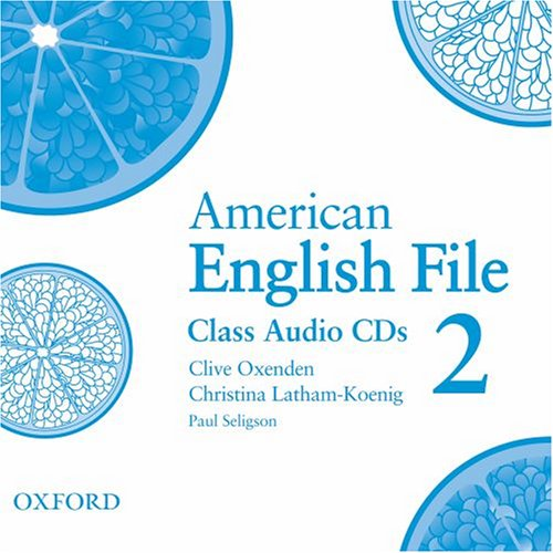 American English File 2 Class Audio CDs (3)