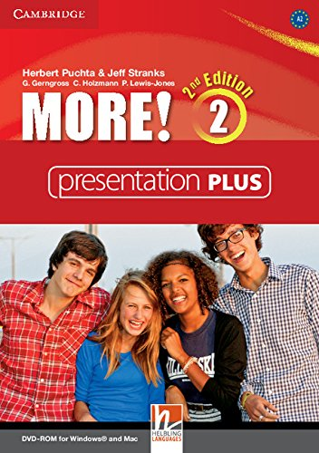 More! Second Edition 2 Interactive Classroom DVD-ROM