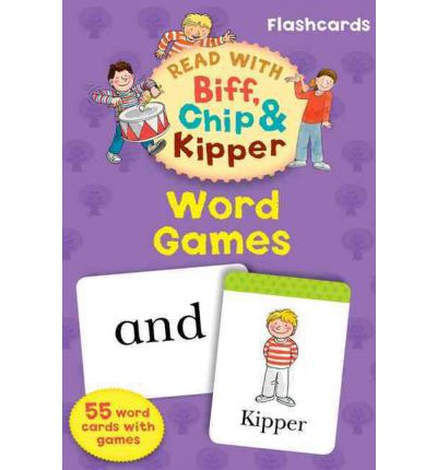 Word Games (Read with Biff, Chip and Kipper: Flashcards) Карточки (55)