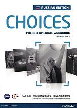 Choices Russia Pre-Intermediate Workbook with Audio CD