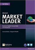 Market Leader 3rd Edition Advanced Coursebook and DVD-ROM Pack with MyEnglishLab