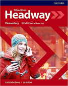 Headway Fifth Edition Elementary Workbook without Key